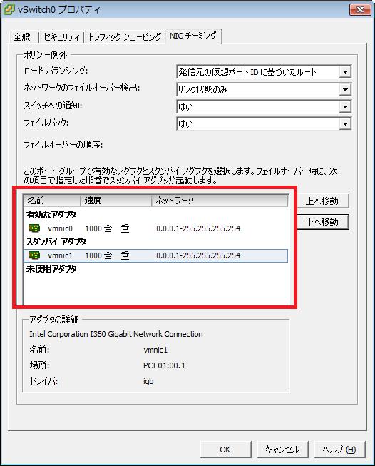 puti se blogVMware vShere ESXiのNICチーミング設定種類とスイッチ構成について。ネットワーク設計VMware vSphere ESXiのNICチーミング設定種類。(ESXi 5.1例)